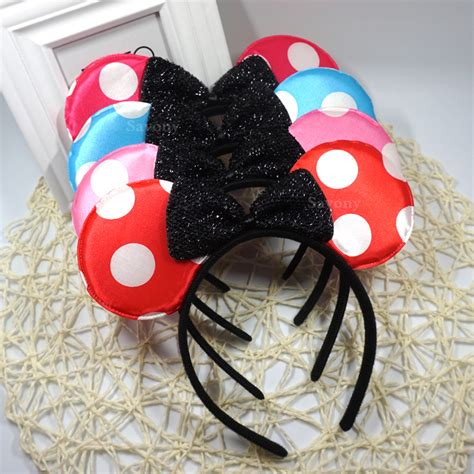 hairstyles with minnie mouse headband aliexpress com buy new mickey minnie mouse ears headband