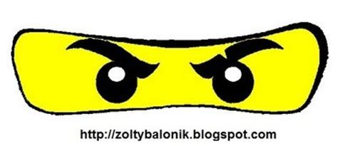 printable ninjago eyes for balloons as simple as it sounds ninjago party supplies