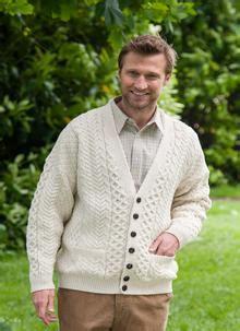 Sweater Grosiran S Aran Cardigan Sweater Jacket