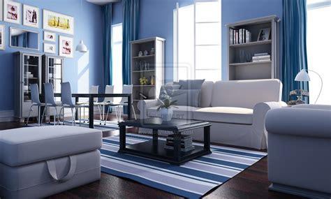 blue white living room airanah design salle de s 233 jour