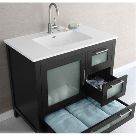 bathroom vanity ronbow ronbow athena 36 quot vanity sinktop free shipping modern
