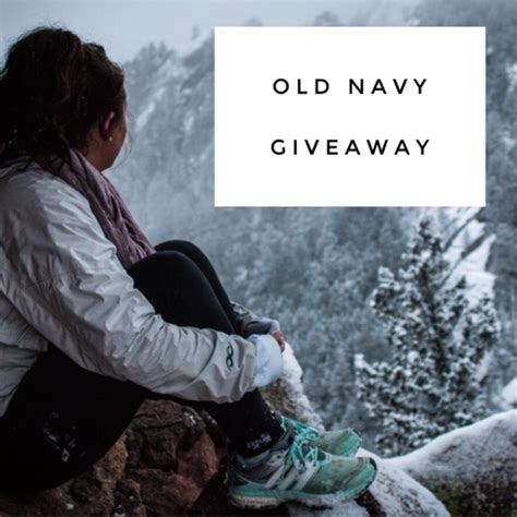 old navy gift card giveaway craft - Old Navy Giveaway