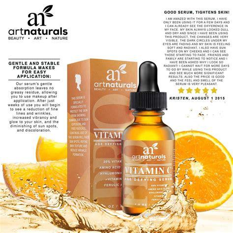 The Vitamin C Serum artnaturals vitamin c serum