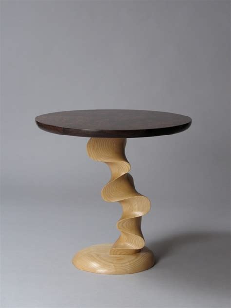 Handcrafted Table - contemporary custom handcrafted end table table