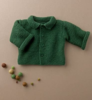 Caq Fr Cardi Knit Kid layette and mousse on