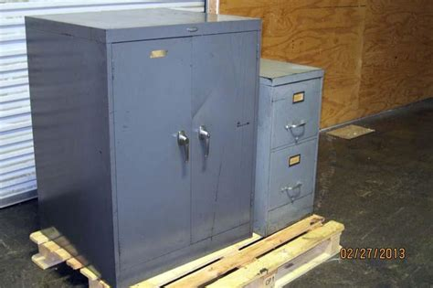 Cole Cabinet by Lot 81 Cole Steel Storage Cabinet And File Cabinet