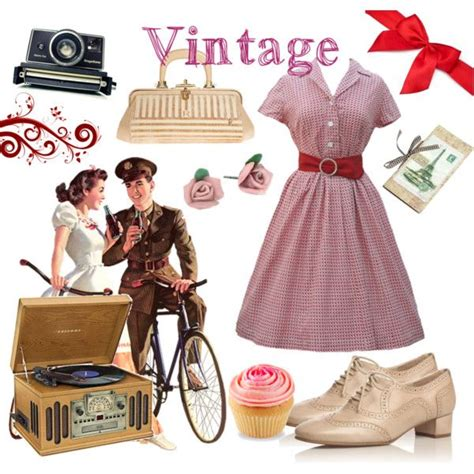 5 Vintage Style Inspirations by Quot And Vintage Quot By Llucherrybomb On Polyvore