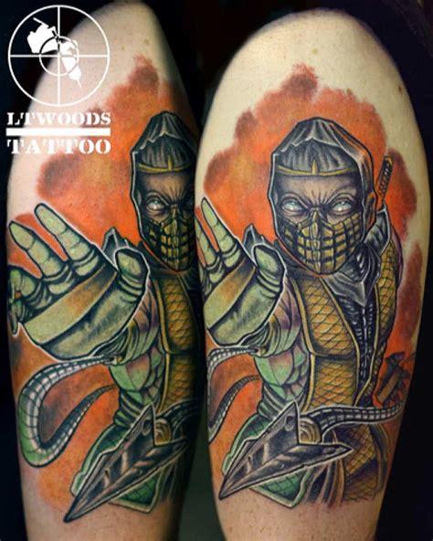 new school scorpion tattoo lt woods new school tattoo artist st louis mo