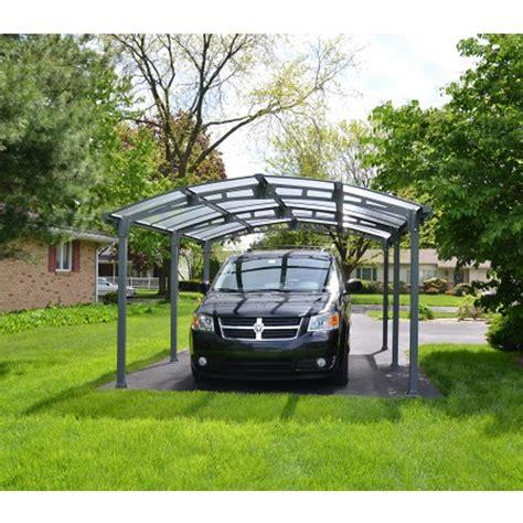 aluminium carport tepro palram aluminium carport einzelcarport arcadia 5000