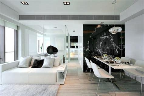 home living space design quarter dise 241 os contempor 225 neos en blanco y negro interiores