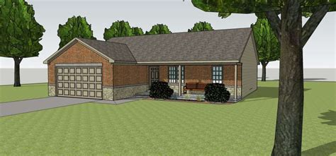 ranch house plans foster 30 846 associated designs small ranch front profile home grass roots ii ranch home