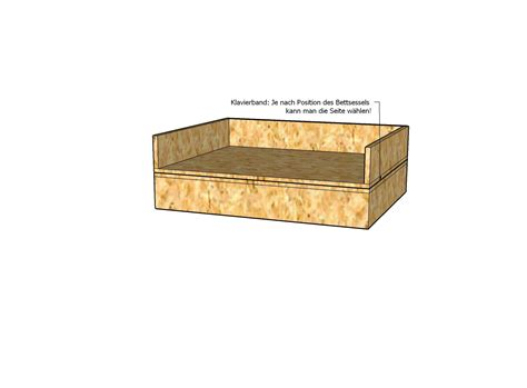 bauplan bett bauplan sessel und bett in einem m 246 bel selber bauen