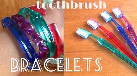 Easy Accessories To Make For A Fashion And Textiles Course by Diy Fashion Toothbrush Bracelets