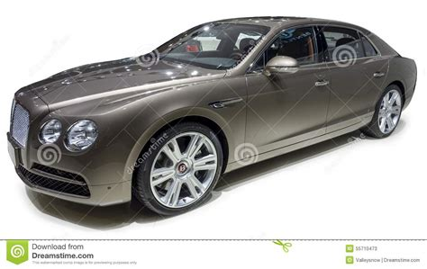 white bentley sedan bentley luxury sedan editorial stock photo image of