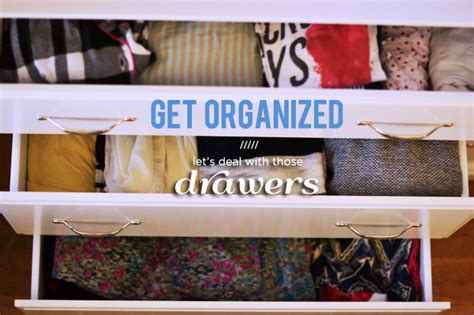 How To Organize Clothes Drawers by How To Organize Your Drawers