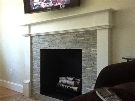 1950s Fireplace by 1950 S Fireplace Redo From To Modern Chic