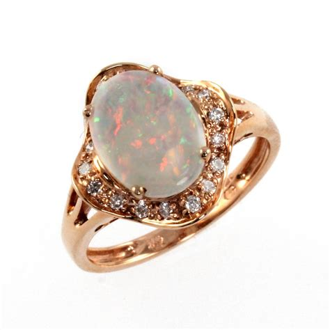 14ct gold opal ring from mr harold and