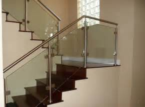 miami stairs glass railings stainless railings wood