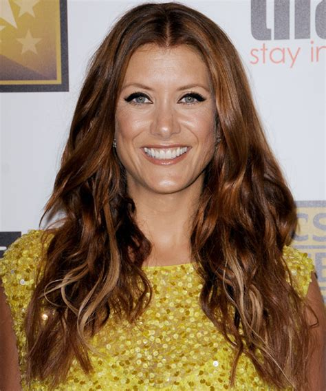 kate walsh medium layered cut medium layered cut lookbook kate walsh long wavy casual hairstyle medium red copper