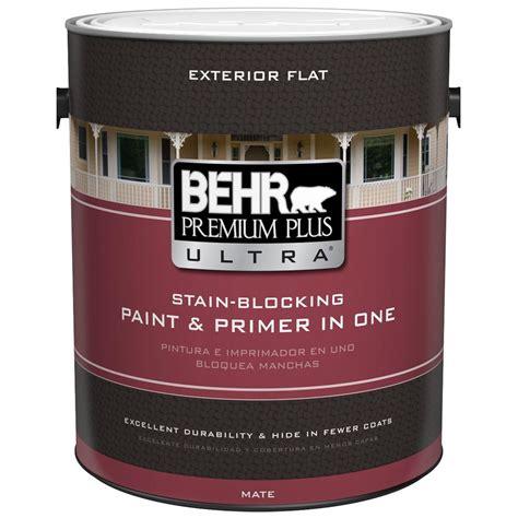 behr premium plus ultra exterior paint behr premium plus ultra 1 gal base flat exterior