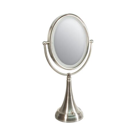 Zadro Vanity Mirror by Maxiaids Zadro Led Lighted 10x 1x Vanity Mirror Oval