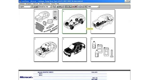 Sections Of The Mcat by Land Rover Mcat Parts 2015