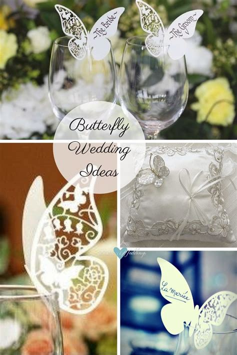 Butterfly Wedding Decorations by Butterfly Wedding Ideas That Will Make Your Skip A Beat