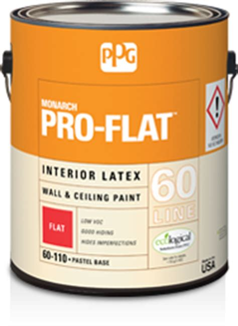 ppg monarch pro flat interior wall ceiling flat