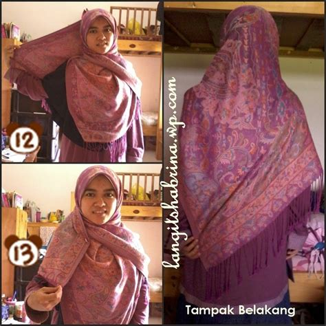 tutorial hijab syar i paris syar i tutorial hijab pinterest