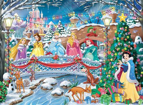 disney printable jigsaw puzzles disney princess christmas puzzle 100 piece ravensburger
