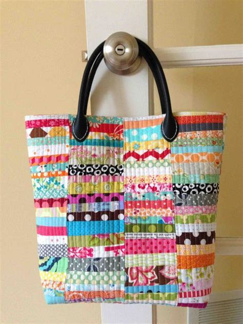 Patchwork Quilt Bags - 6 quilted purse patterns for patchwork