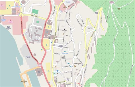 Printable Road Map Of Gibraltar | streets in gibraltar wikipedia