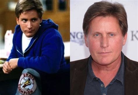 michael j fox and emilio estevez 10 heartthrobs from the 80 s where are they now