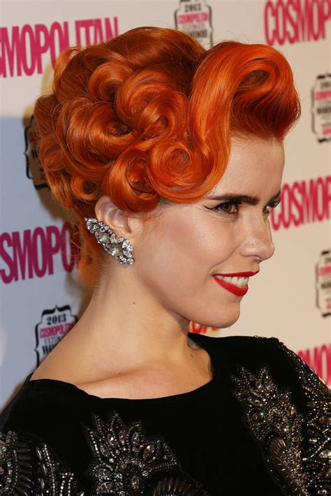 pin curl bob paloma faith s best hairstyles retro hair vintage style