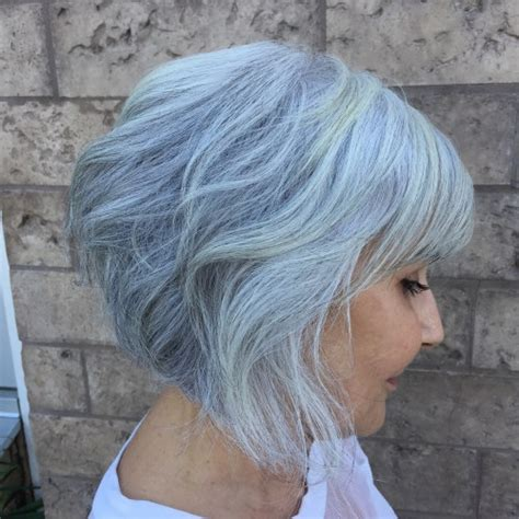 inverted bobs for over 50 90 classy and simple short hairstyles for women over 50