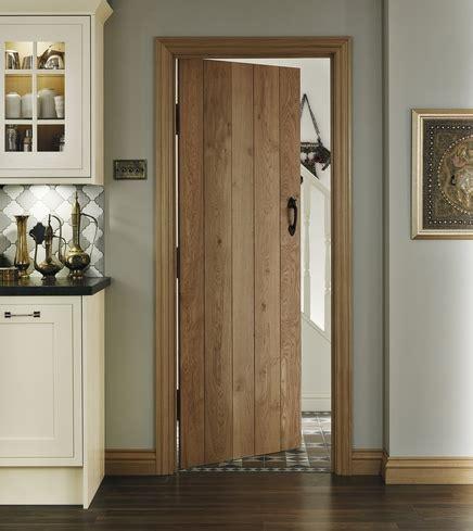 Howdens Interior Doors Solid Rustic Oak Ledged Door Hardwood Doors Doors Joinery Howdens Joinery