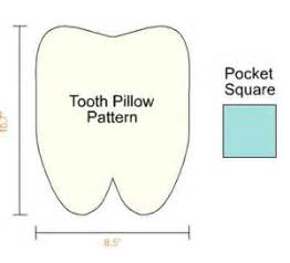 free tooth pillow pattern catalog of patterns