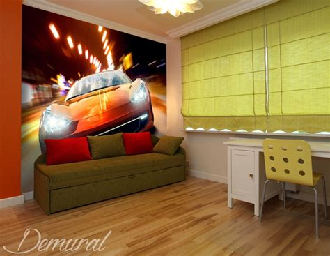 picture for room top gear junior s room wallpaper mural photo wallpapers demural