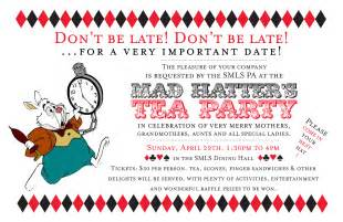 Mad Hatter Invitation Template by Mad Hatter Tea Invitations Theruntime
