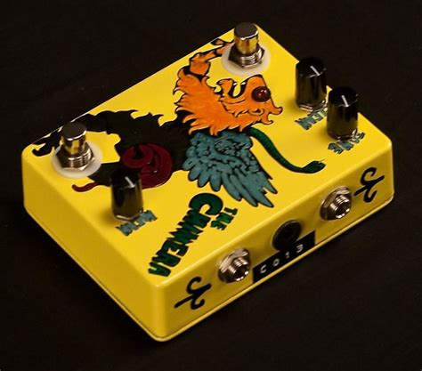 Overdrive Light by Flickinger The Chimera Boost Overdrive Pedal Light Lime