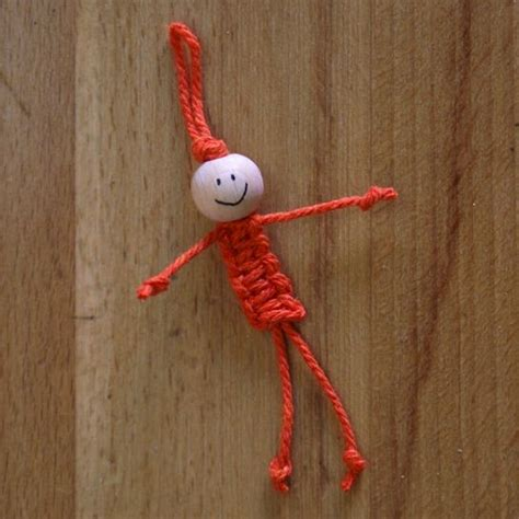 Macrame Craft - macrame doll crafts for toys macrame