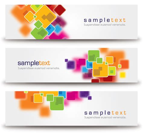 abstract design banners vector free download abstract minimalist banners