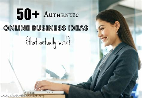 Online Business Ideas Work From Home - 50 authentic online business ideas that actually work