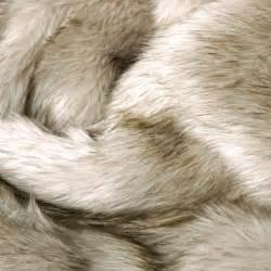 faux fur blanket in oatmeal towels blankets