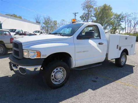 dodge ram 2500hd dodge ram 2500hd 2005 utility service trucks