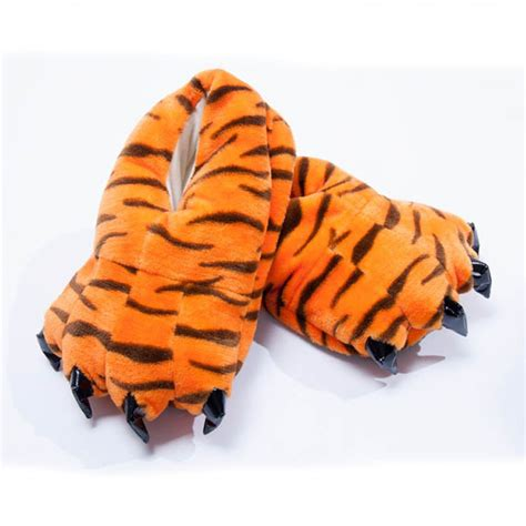 tiger slippers kigurumi retail outlet unisex animal tiger print