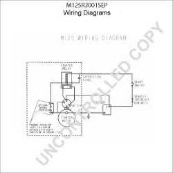 m125r3001sep starter motor product details prestolite leece neville