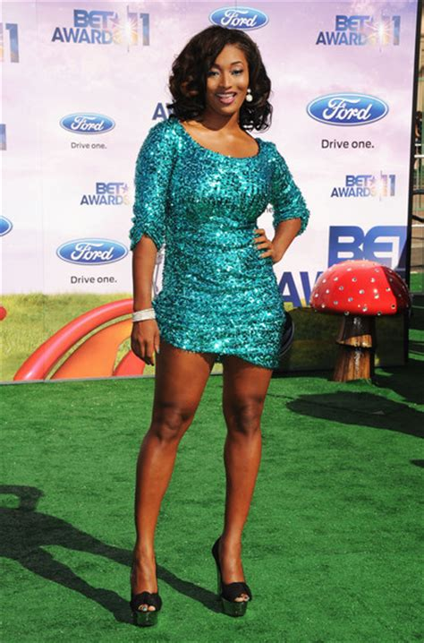 Tocarra In by Brightest Hour 2011 Bet Awards Carpet Arrivals