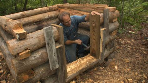 Small Cabins Designs by Building A Small Log Chicken House The Farm Hand S