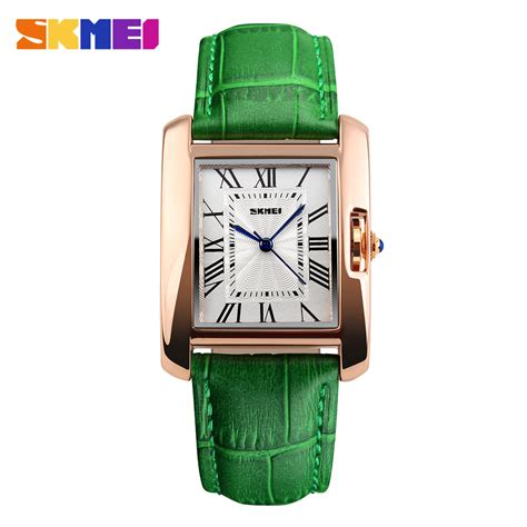 Jan Tangan Wanita skmei jam tangan fashion wanita 1085cl green